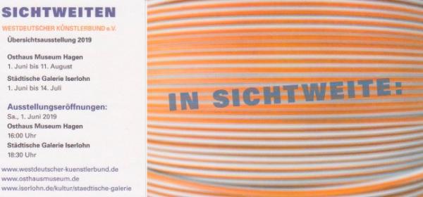Sichtweiten –Westdeutscher Künstlerbund e.V.